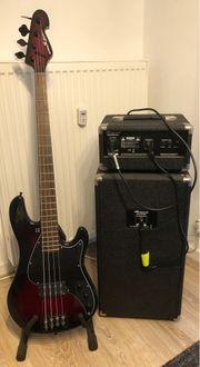 Verkaufe gebrauchten E-Bass Sandberg Electra