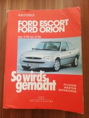 Ford Escort Orion Reperaturbuch