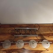 Pendelleuchte Deckenlampe 4-flammig höhenverstellbar