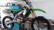 Motocross Cross KX450F Kawasaki