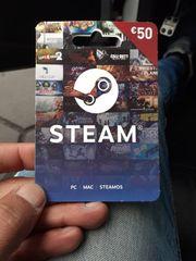 Steam Spiel karte pc