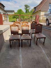 Stühle 6 Stück Eiche