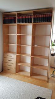 Bücherregal aus Multiplex-Birke