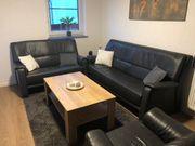 Echte Leder Couch 3-teilig