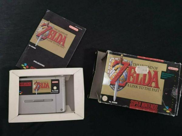 SNES The Legend of Zelda -