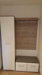 Modernes Garderobenset Garderoben -Schrank -Bank