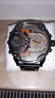 Diesel Herren Armbanduhr Braun
