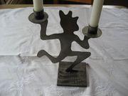Kerzen-Ständer Metall-Gestell für 2 Kerzen