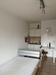 Möblierte 1-Zi Wohnung mit Balkonin