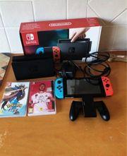 Nintendo switch konsole neu