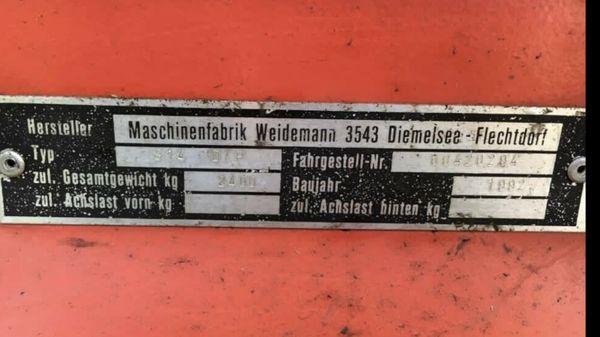 Weidemann Hoflader 914 DP Pferde