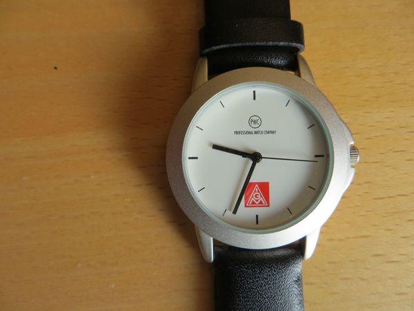 IGMetall Armbanduhr