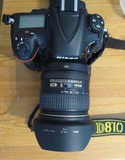 Nikon D810 Komplettausrüstung mit Zubehör