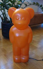 Lumibär Orange Lampe 58 cm