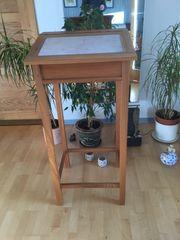 Schreibpult Massivholz Ulme vom Bio-Schreiner