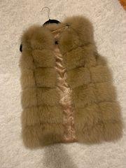 Fox Fur Weste Fuchspelz