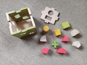 Puzzle Würfel Holz Baby Kleinkind