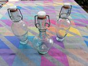 Dekorationsflaschen Essenzen Gläser
