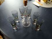 Grappa-Set aus Glas