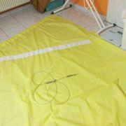 2 gelbe Vorhänge 1 40
