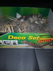 lucky reptile Deco Set desert