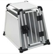 Hundetransportbox Aluminium M