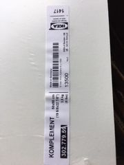 IKEA Regalboden KOMPLEMENT 50x58cm 302