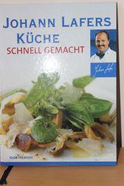 Kochbuch Johann Lafer unbenutzt