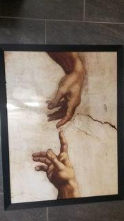 Bild - gerahmtes Poster Michelangelo