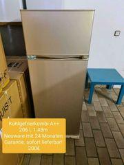 Kühlgefrierkombi A 206 l 143cm