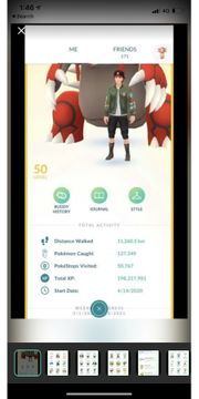 Pokemon Go account lvl 50