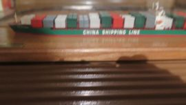 Schiffsmodell Containerschiff China Shipping Line