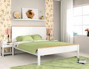 NEU Doppel-Bett 180x200 weiß Massiv-Holz