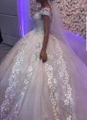 Brautkleid - Hochzeitskleid mit Zubehör