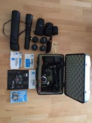 Minolta X-700 Spiegelreflexkamera mit sehr