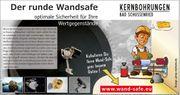 Wand-Safe Wand-Tresor inkl Einbau