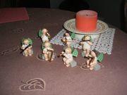 7 Original Erzgebirge - Engelfiguren