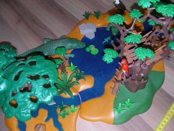 Playmobil Zubehör Oambati Wildtierstation 4826