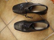 Schuhe Lloyd Leder schwarz 39