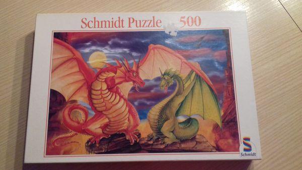 Puzzle Drache