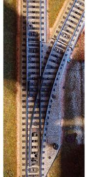 Märklin M-Gleis Weiche elektrisch gerade