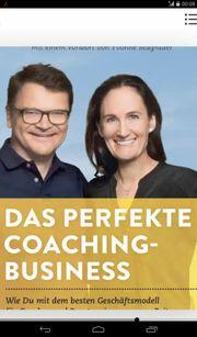 Buch Business Coaching zu verschenken