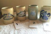6 Bierseidel ungebraucht - aus Sammlung