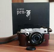 Olympus Pen-F Kit Systemkamera