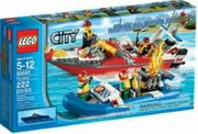 Lego City Feuerwehr-Boot