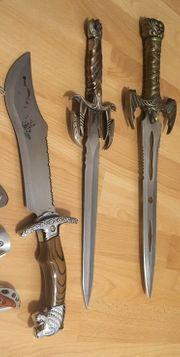 verkaufe günstig Fantasy dekoschwerter