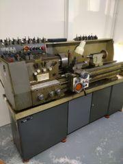 Mechanische Drehmaschine Metallic C8D Metall