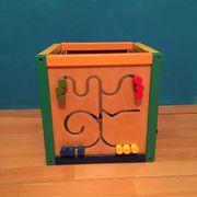 Motorikwürfel Holzspielzeug für Ihr Kind