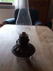 Alte Petroleumlampe