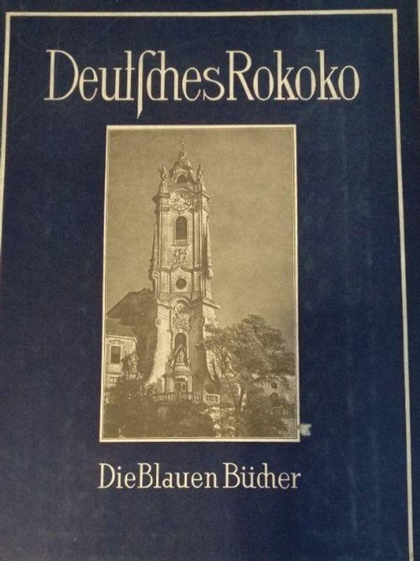 Deutsches Rokoko die blauen Bücher